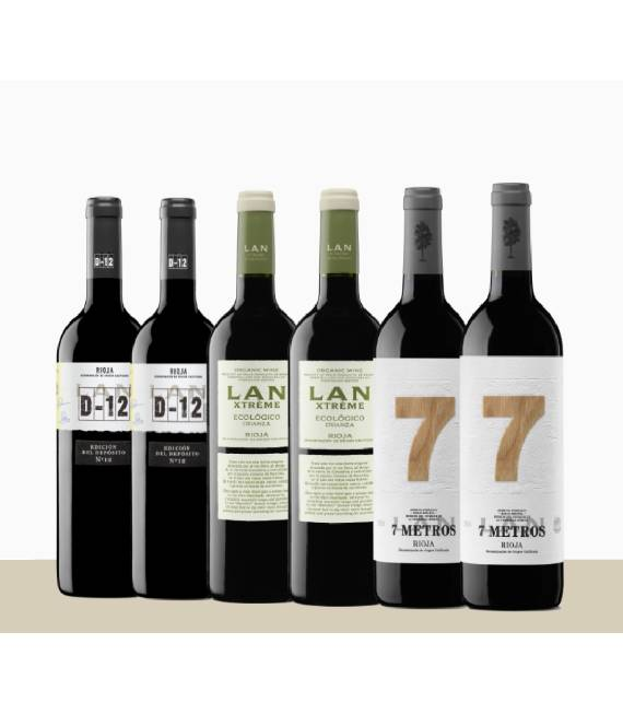 Pack vinos singulares para tienda